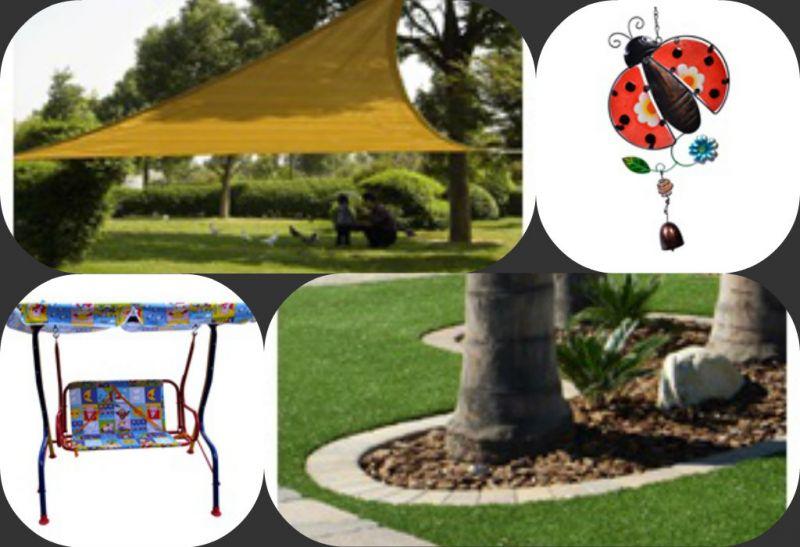 Διακοσμήστε τον κήπο σας οικονομικά