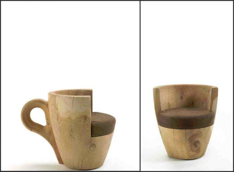Η πολυθρόνα του καφέ!