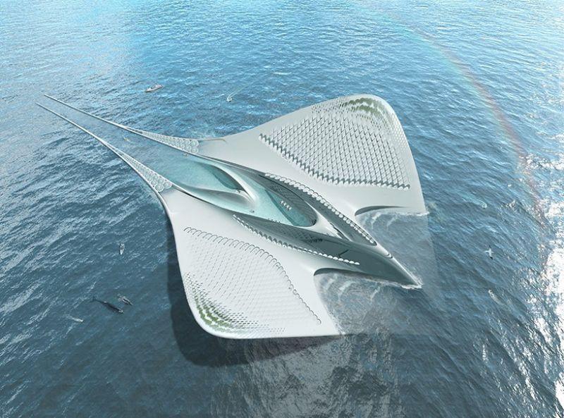 Ένα αυτόνομο πλωτό ερευνητικό κέντρο