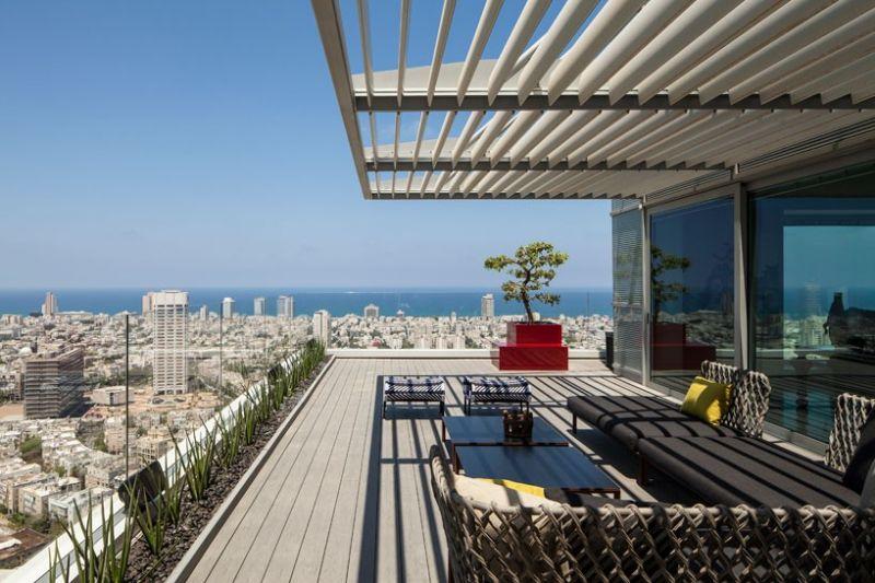 Ρετιρέ με θέα το Τελ Αβίβ