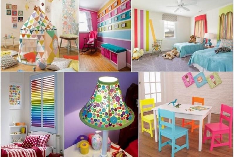 Παιδικό δωμάτιο με χρώματα!