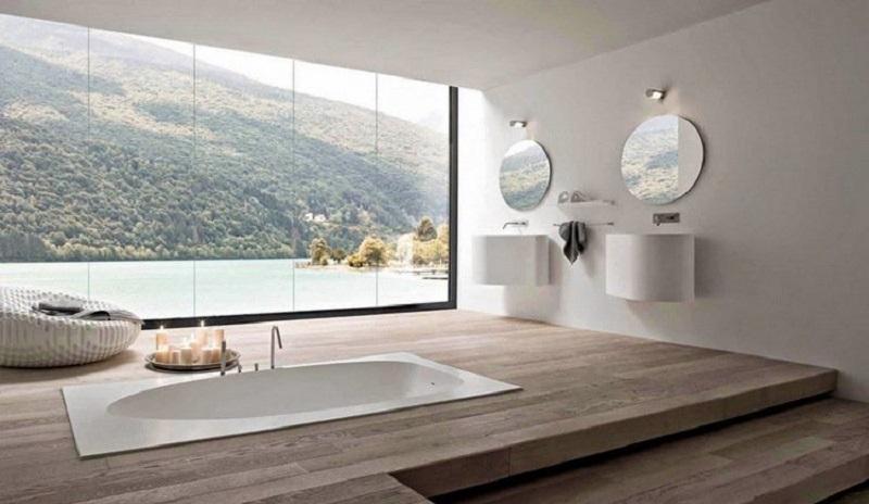 Ιδέες για μπάνια χωρίς παράθυρο!