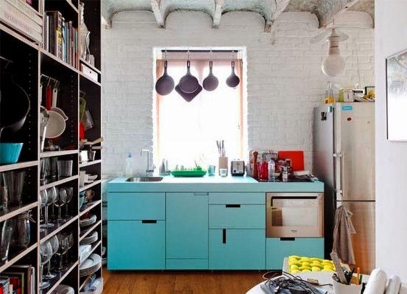 Όμορφες κουζίνες για μικρούς χώρους!