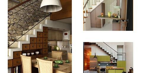 Κουζίνες κάτω από τις σκάλες!