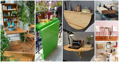 Πτυσσόμενα τραπέζια για κάθε σημείο του σπιτιού σας!