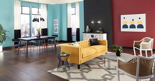 Η Valspar + HGTV HOME από την Sherwin-Williams ανακοινώνουν τις τάσεις Color Trends! Β μέρος