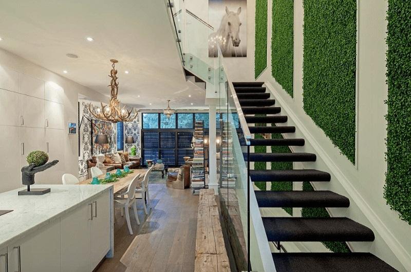 Τοίχοι πρασίνου με αρχιτεκτονική άποψη!