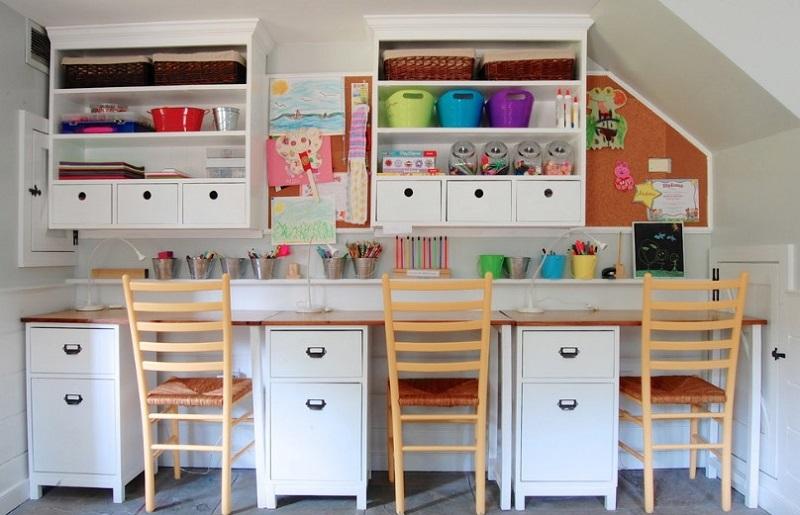 Ο χώρος μελέτης για τα παιδικά δωμάτια!