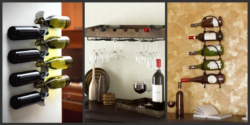 Ράφια κρασιού σε διάφορα σχέδια!