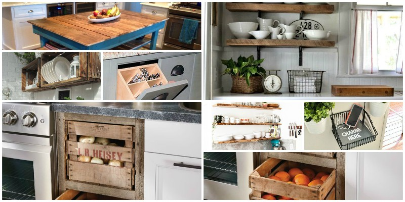Vintage ιδέες για την κουζίνα!