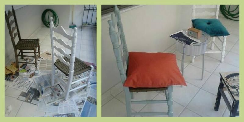 Μετατρέψτε... την παλιά ξύλινη καρέκλα σας!