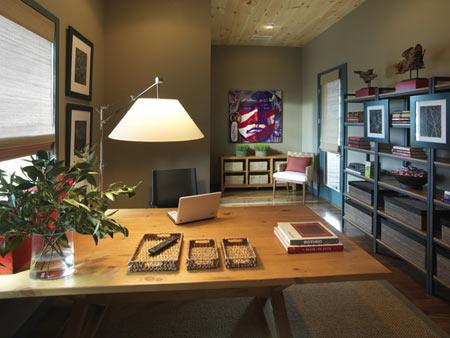 Τοποθετούμε το γραφείο στο σπίτι σύμφωνα με την θετική ενέργεια του feng shui