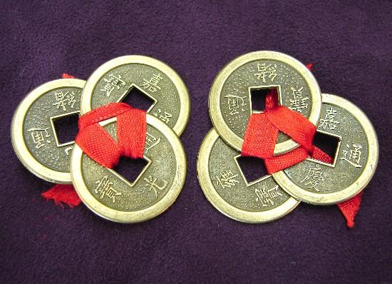 Που τοποθετούμε τα τυχερά κινέζικα νομίσματα του feng shui