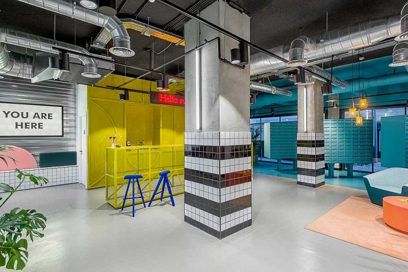 The Student Hotel - για ένα σχεδιασμό που συνδυάζει πολλά στυλ!