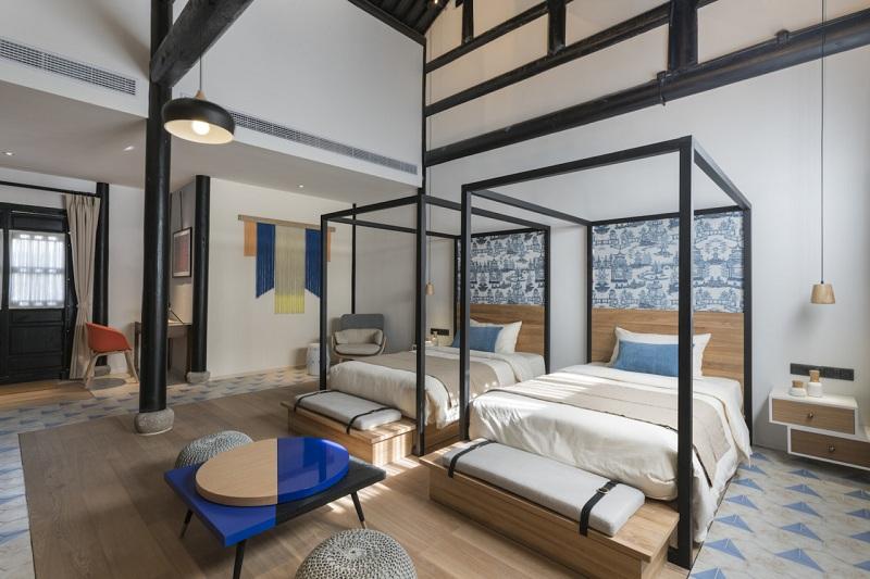 Ένα ξενοδοχείο σε μια πόλη της Νότιας Κίνας!