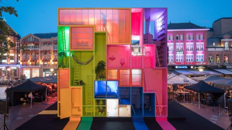 Το MVRDV παρουσιάζει ένα πολύχρωμο, φουτουριστικό ξενοδοχείο!