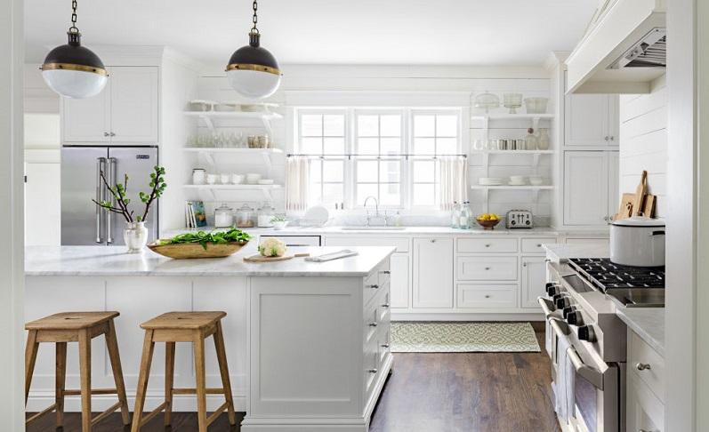 Κουζίνα και χρώμα- όχι λευκό!