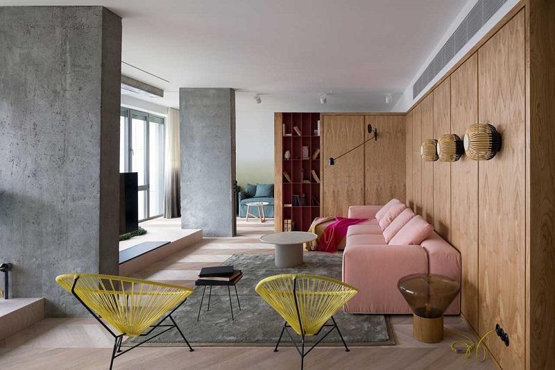 Ένα πολύχρωμο διαμέρισμα στο Κίεβο!