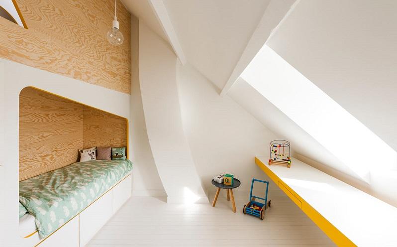 Ένα παιδικό δωμάτιο σαν σε σπίτι!