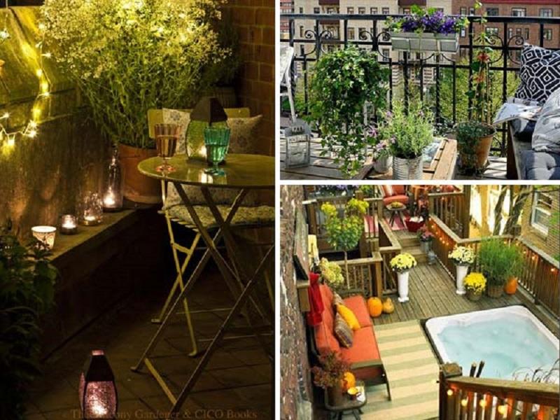 Ο κήπος στο μπαλκόνι σας!