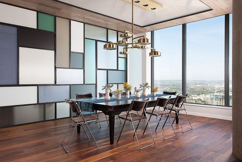Διαμέρισμα στο Τέξας με επιρροές Mondrian!