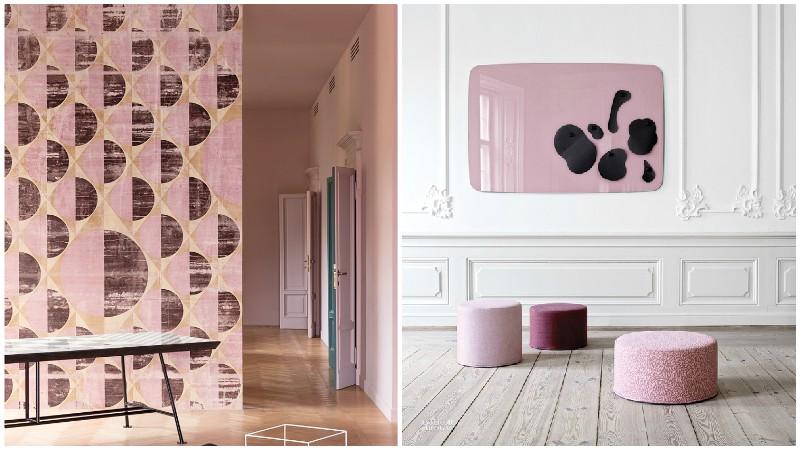 Το ροζ ως χρώμα για το σπίτι!