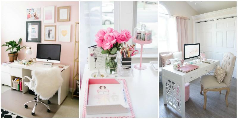 Γυναικεία γραφεία στο σπίτι σε τρία βήματα!
