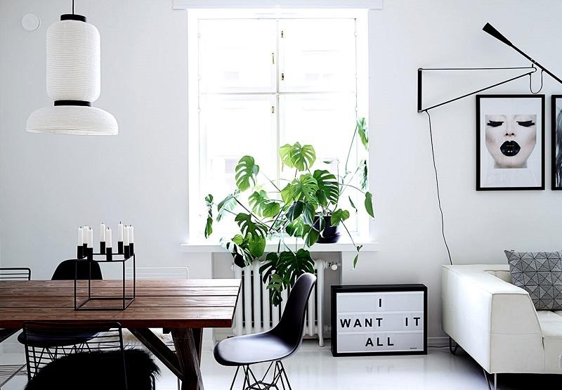 Ένα μονοχρωματικό διαμέρισμα στο Ελσίνκι!