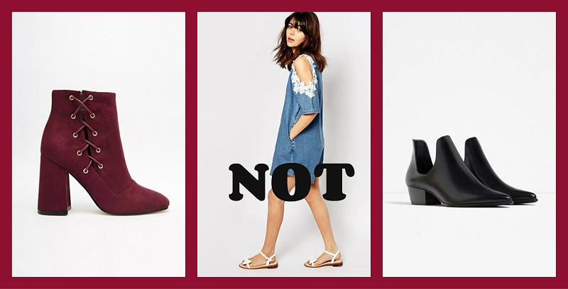 Ankle Boots: Do it right...