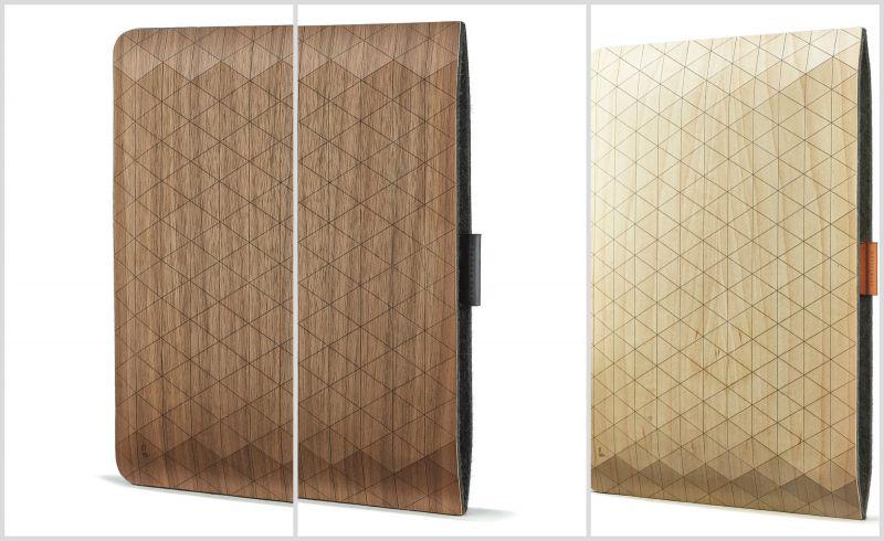 Ξύλινη θήκη για iPad και MacBook