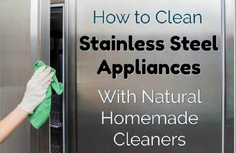 Πώς να καθαρίσετε τις συσκευές της κουζίνας με σπιτικά καθαριστικά;