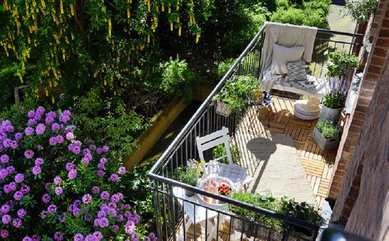 Κάντε το μπαλκόνι σας εναν μικρό παράδεισο!
