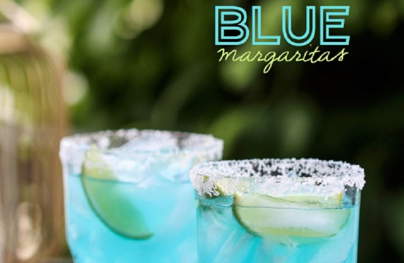 Blue margarita!