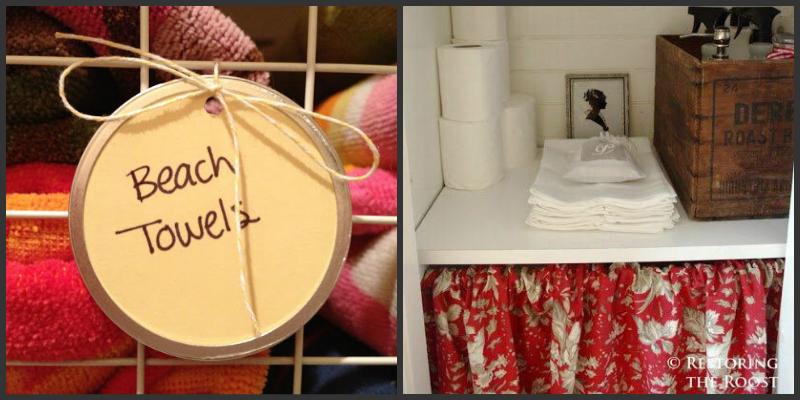 Tricks για να οργανώσετε τις πετσέτες του μπάνιου σας!