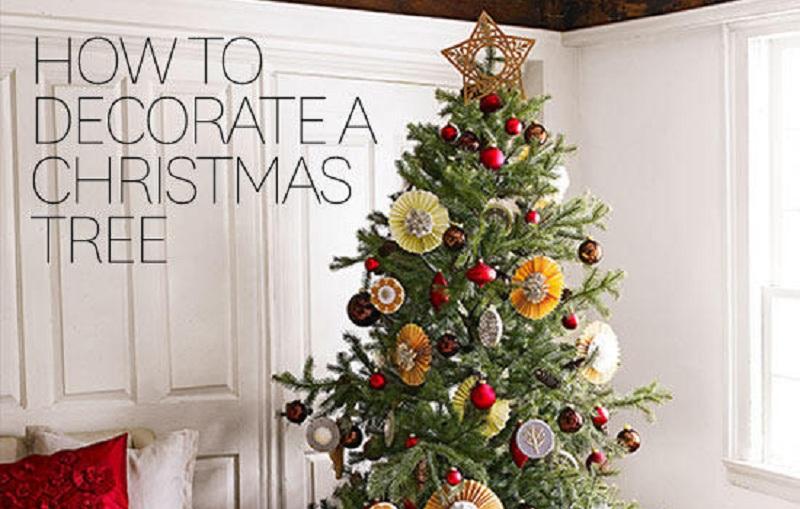 Στολίστε το Χριστουγεννιάτικο δέντρο με 3 απλά βήματα!