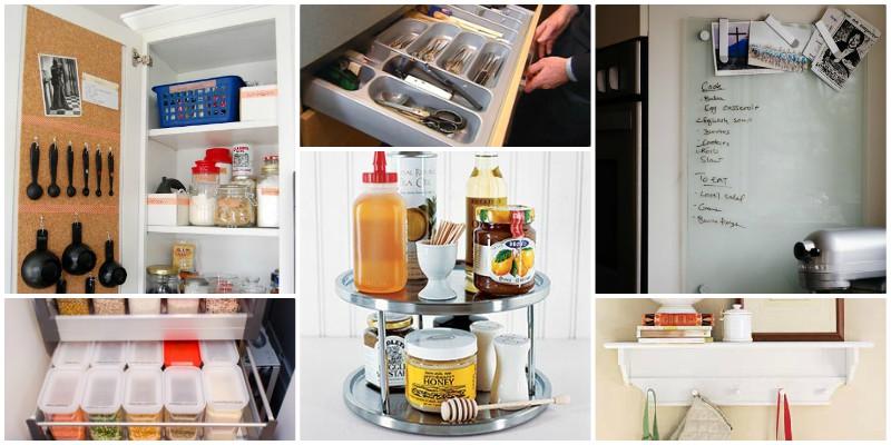 Tricks για να οργανώσετε την κουζίνα σας!