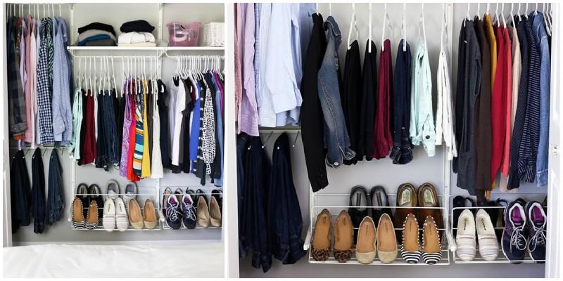 Η μέθοδος Konmari για την οργάνωση ρούχων!