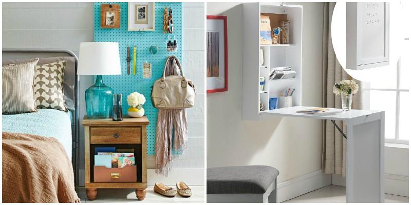 Οργανώστε με έξυπνους τρόπους τα αντικείμενα της κρεβατοκάμαρά σας!