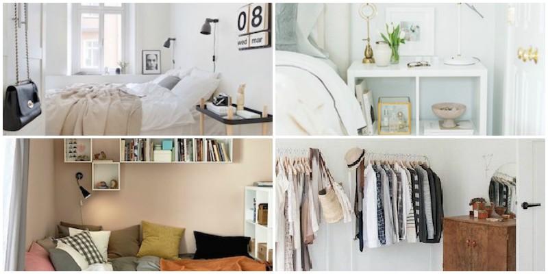 Ιδέες για μικρά υπνοδωμάτια!