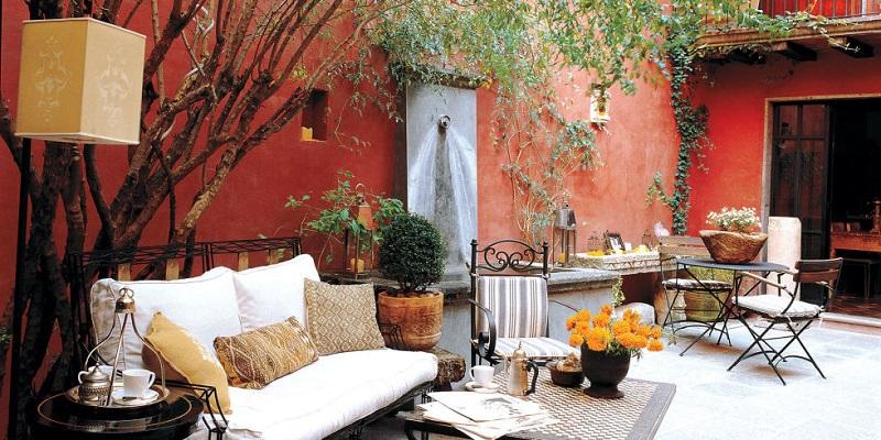 Κήποι και βεράντες - μια όαση στην πόλη!