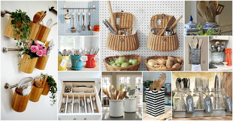 Έξυπνοι τρόποι για να οργανώσετε την κουζίνα σας!